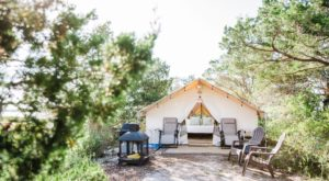This Solar Powered, Luxury Glamping Experience On A Georgia Private Island Will Be An Overnight Trip You'll Never Forget