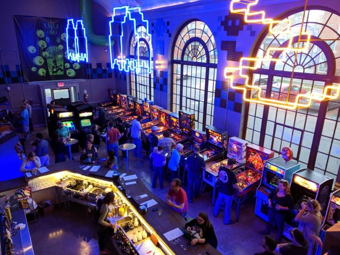 The Grid Is Coolest Arcade And Bar In Michigan