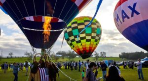 Spend The Day At This Hot Air Balloon Festival In Texas For A Uniquely Colorful Experience