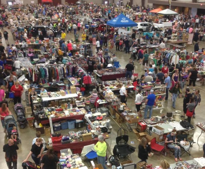 The World S Largest Yard Sale Is Happening Right Outside