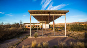 Most People Have Long Forgotten About This Vacant Ghost Town In Rural Texas