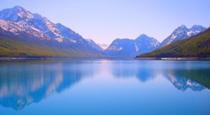 This Hidden Picturesque Lake In Alaska Is Like Something Out Of A Dream
