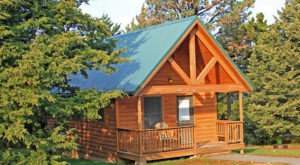 This Log Cabin Campground In Kansas May Just Be Your New Favorite Destination