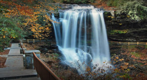 This Waterfall Staircase Hike May Be The Most Unique In All Of North Carolina