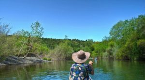 Take This Lazy River Canoe Trip In Northern California For Some Peace And Quiet