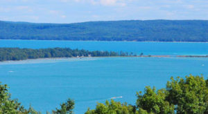 You'll Want To Visit This One Gorgeous Michigan Lake That's As Blue As The Sky