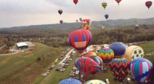 Spend The Day At This Hot Air Balloon Festival In West Virginia For A Uniquely Colorful Experience