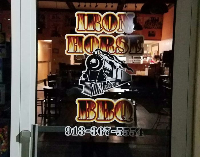 Iron Horse BBQ   306 Commercial St., Atchison, KS