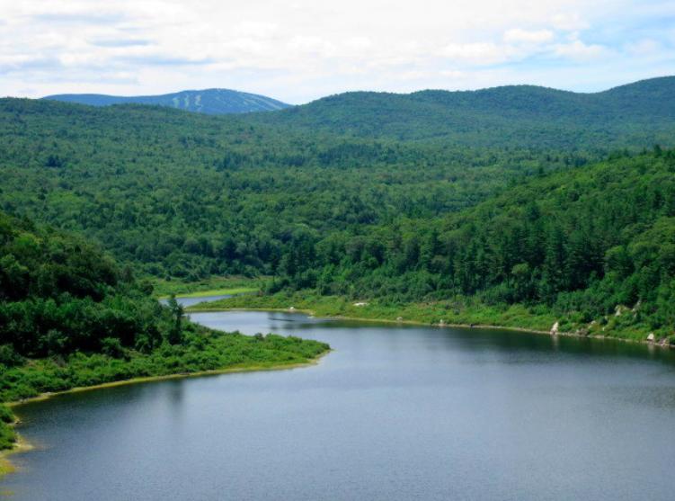 Ball Mountain Dam Jamaica Vermont   DJI Spark Drone Forum