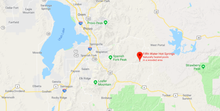Fifth Water Hot Springs Is A Natural Waterpark In Utah