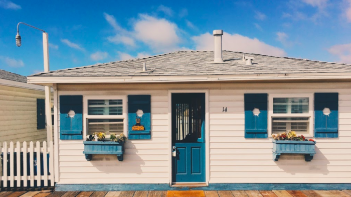 The Cabins At Crystal Pier In San Diego Are Right Over The