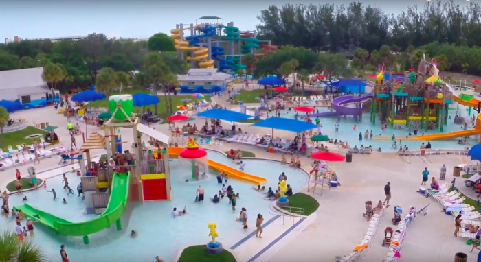 C B Smith Campground Paradise Cove Waterpark In Florida Are A