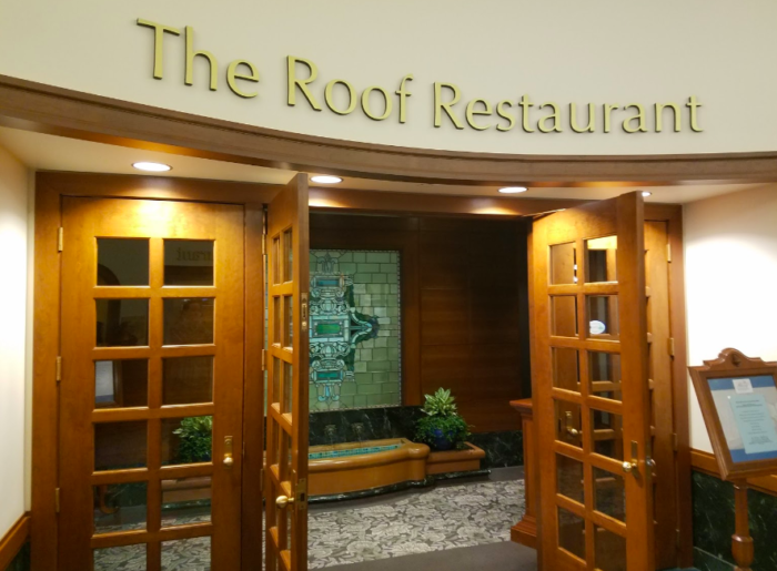 The Roof Restaurant Has A Delicious All You Can Eat Buffet