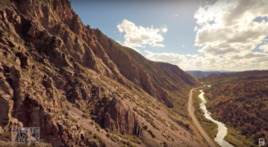 This Mesmerizing Drone Footage Takes You High Above The New Mexico Countryside Like Never Before