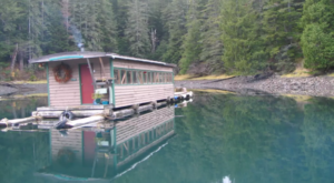Spend The Night In A Floating Caboose In Alaska For An Unforgettable Experience