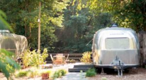 You'll Love Spending The Night At This Vintage Trailer Resort On The West Coast