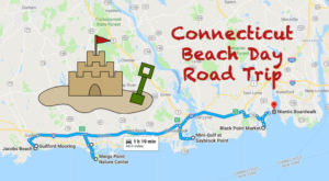 This Road Trip Will Give You The Best Connecticut Beach Day You've Ever Had