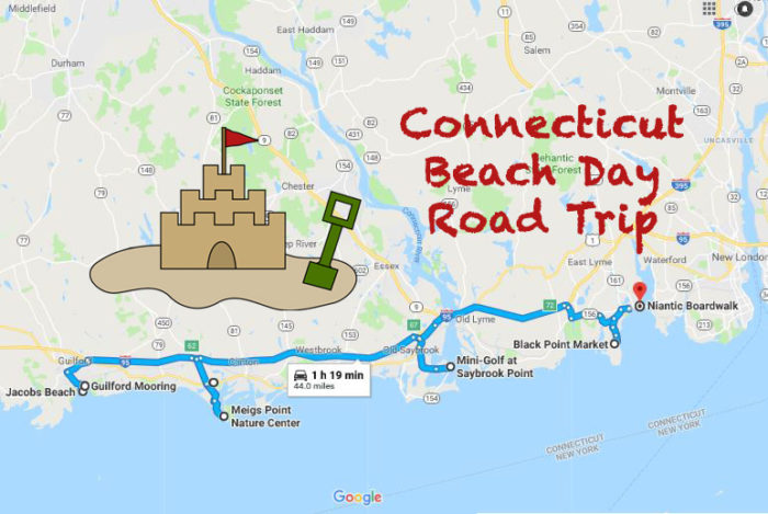 Take This Beach Day Road Trip In Connecticut For The Best Summer Day ...