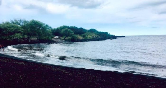 Hawaii's Black Sand Beach Will Leave You In Wonder And Awe