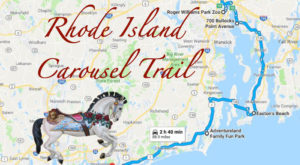 There's A Carousel Trail In Rhode Island And It's Everything You've Ever Dreamed Of