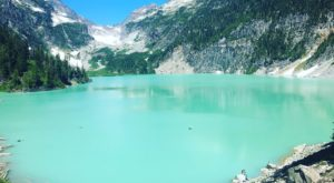 This Underrated Trail In Washington Leads To A Hidden Turquoise Lake