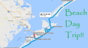 This Road Trip Will Give You The Best Texas Beach Day You've Ever Had