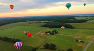 Spend The Day At This Hot Air Balloon Festival In Maryland For A Uniquely Colorful Experience