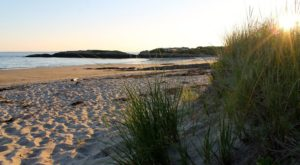 The Maine Beach That's Unlike Any Other In The World