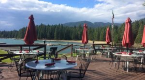 This Secluded Waterfront Restaurant In Idaho Is One Of The Most Magical Places You'll Ever Eat