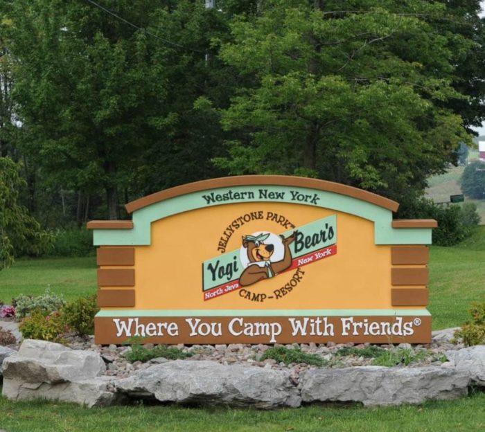 Jellystone Park Is Best Waterpark Campground Near Buffalo