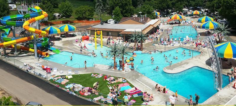 Kamp Dels Is A Waterpark Campground In Minnesota That You