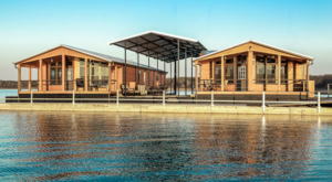 Experience The Ultimate Lake Life In These Floating Houses In Texas