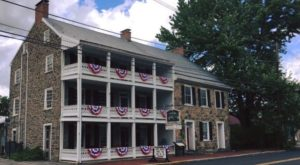 The Hidden Bed & Breakfast In Pennsylvania That Was Once A Stop On The Underground Railroad