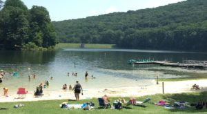 The Swimming Hole In Maryland That Will Take You Back To The Good Ole Days
