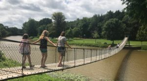 The Marvelous Swinging Bridge In Michigan That You'll Want To Experience For Yourself