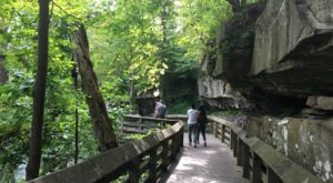 This Waterfall Staircase Hike May Be The Most Unique In All Of Cleveland