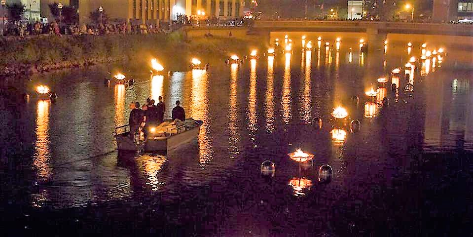 Sharon Waterfire Is A Spectacular Festival Near Pittsburgh