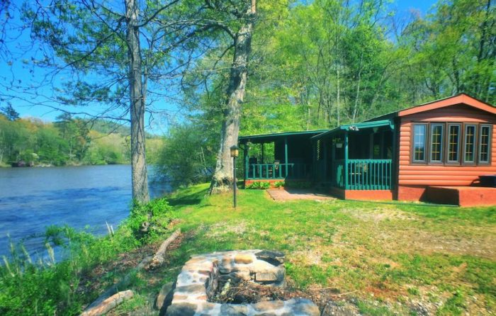 Asheville river cabins are a great place to call home for Rustic cabins near asheville nc