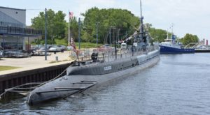 Stay Overnight On An Old WWII Submarine Right Here In Michigan