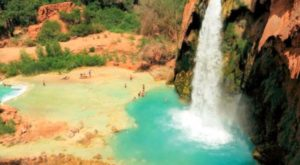This Hidden Lagoon Is Home To Some Of The Bluest Water In The U.S.