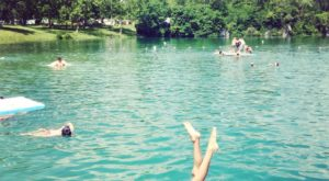 The Natural Swimming Hole In Ohio That Will Take You Back To The Good Ole Days