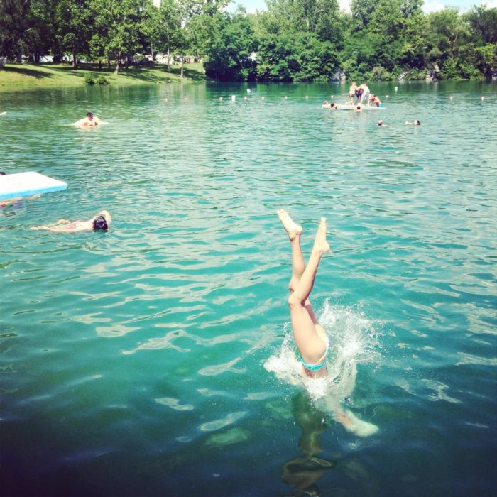 The Best Natural Swimming Hole In Ohio Natural Springs Resort