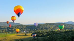Spend The Day At This Hot Air Balloon Festival In Vermont For A Uniquely Colorful Experience