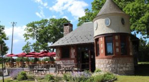Blink And You'll Miss This Charming Maine Cafe Sitting In A Tiny Historic Castle