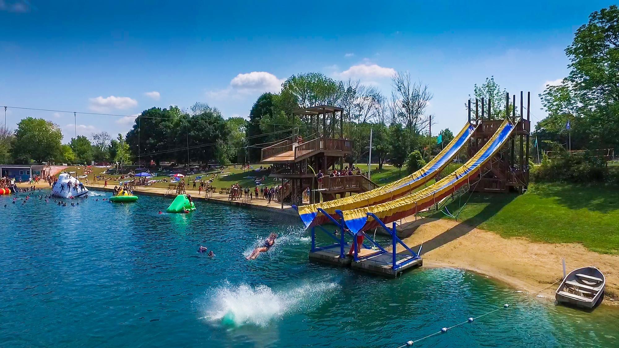 Best Outdoor Water Park In Ohio Clay S Park Resort