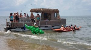 A Trip To This Floating Tiki Bar In New Jersey Is The Ultimate Way To Spend A Summer's Day