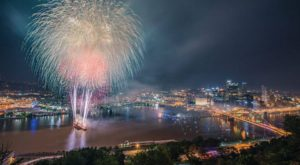 You Won't Want To Miss The 9 Most Enchanting Fireworks Displays In All Of Pennsylvania