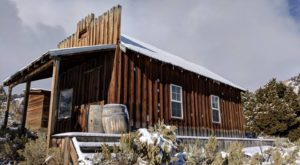 You Can Spend The Night In A Ghost Town At This Log Cabin Ranch In Nevada