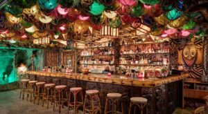 Most People Don't Know About This Hidden Tiki Bar In Southern California