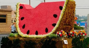 The Oregon Town That Transforms Into A Watermelon Wonderland Each Year